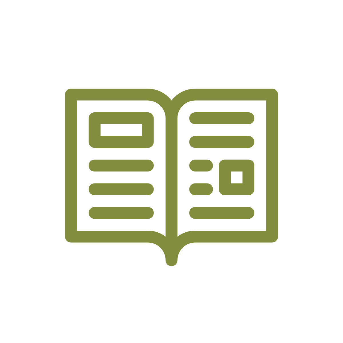 Open magazine icon